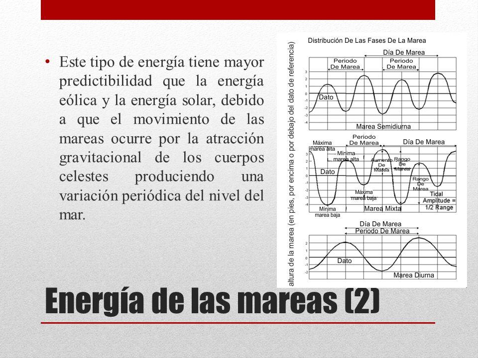 Energía de las mareas (2)