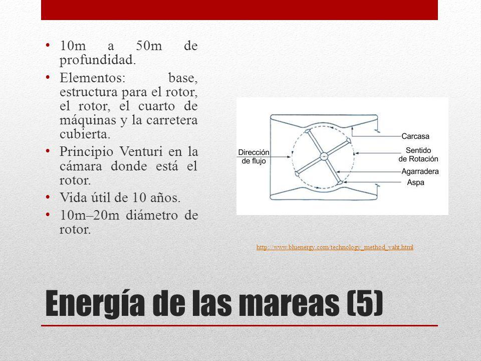 Energía de las mareas (5)