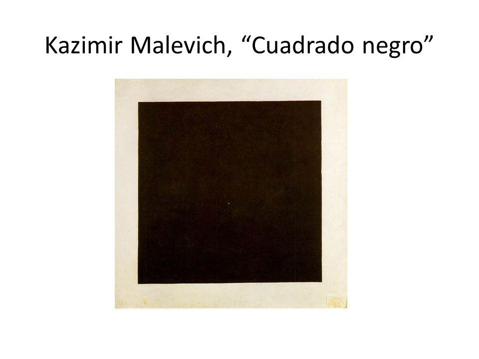 Kazimir Malevich, Cuadrado negro