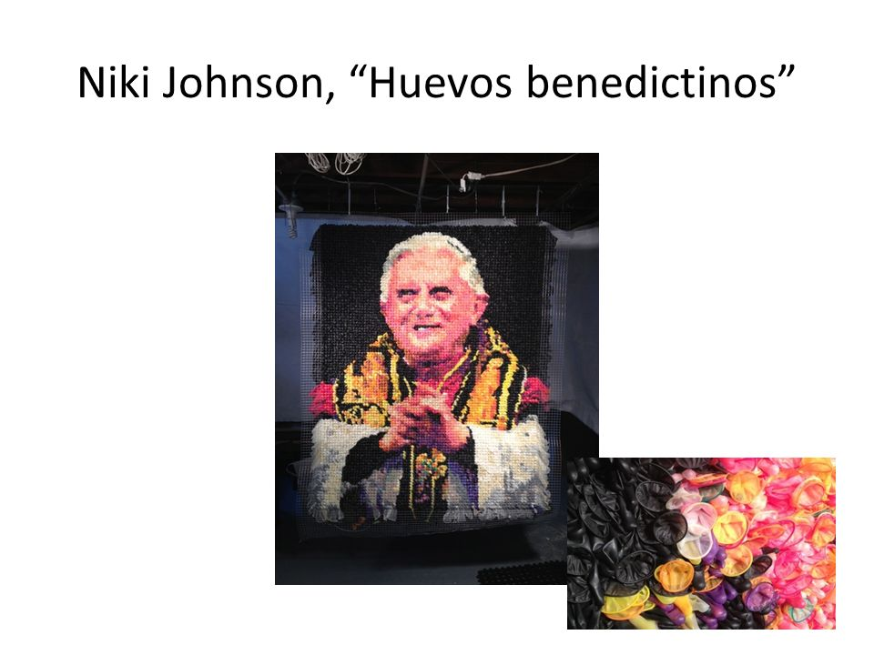 Niki Johnson, Huevos benedictinos
