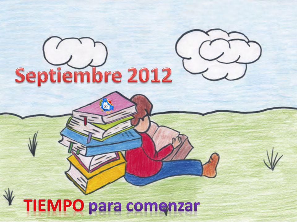 Septiembre 2012 TIEMPO para comenzar