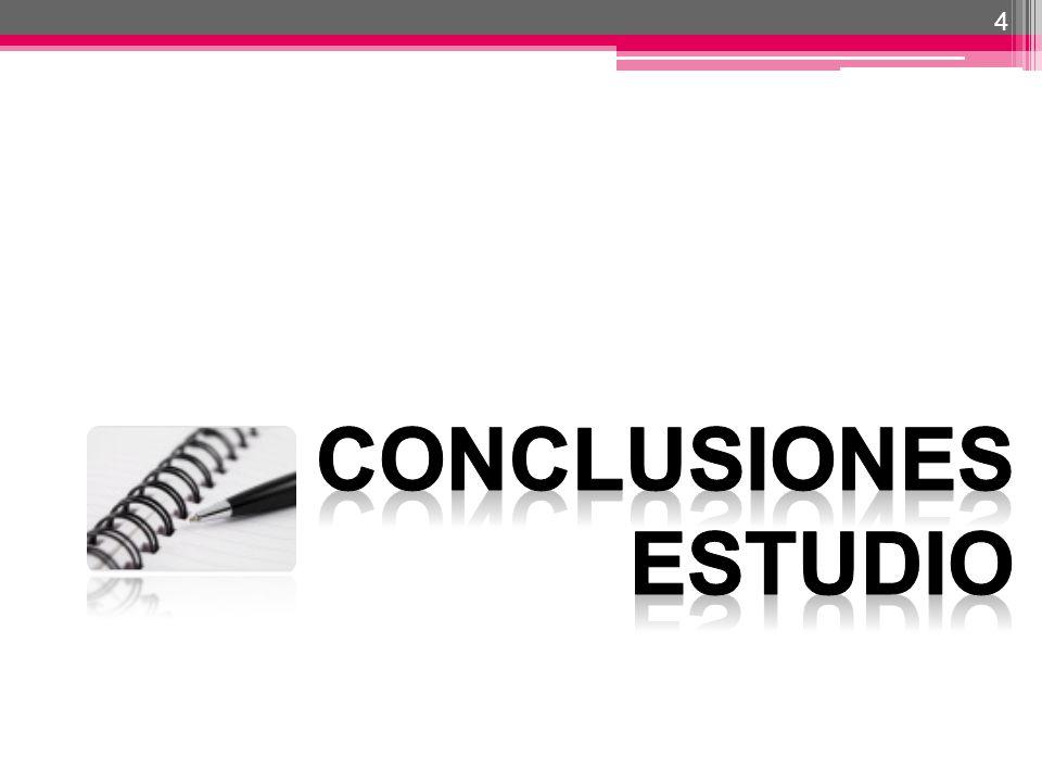 4 CONCLUSIONES ESTUDIO