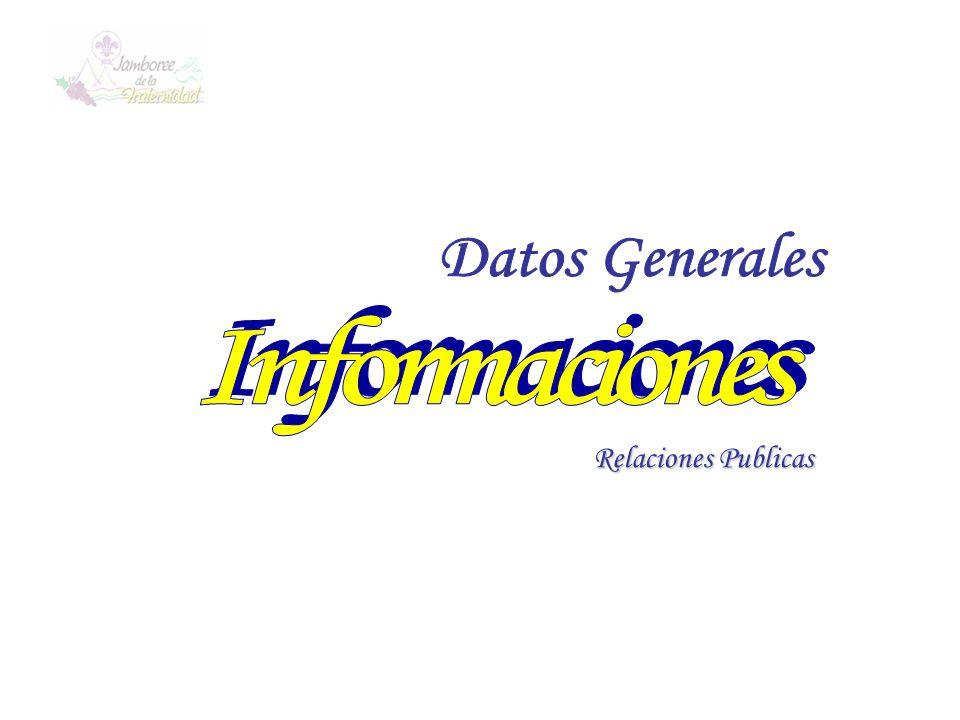 Datos Generales Informaciones Relaciones Publicas