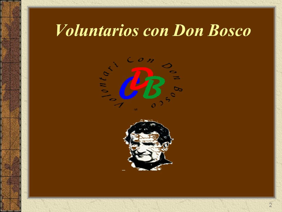 Voluntarios con Don Bosco