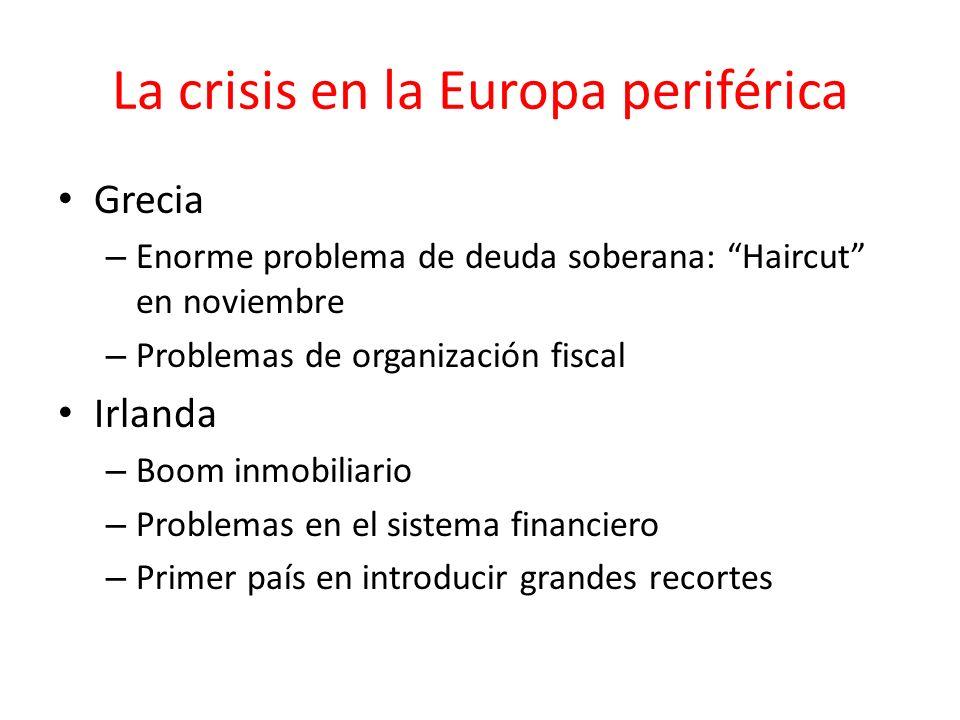 La crisis en la Europa periférica