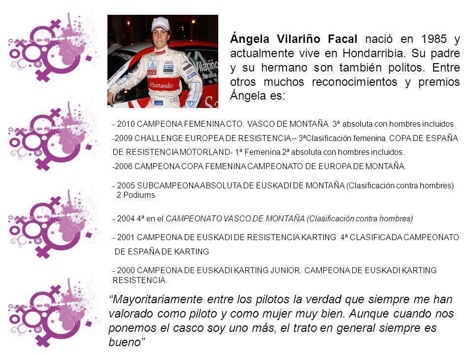 Ángela Vilariño Facal nació en 1985 y actualmente vive en Hondarribia