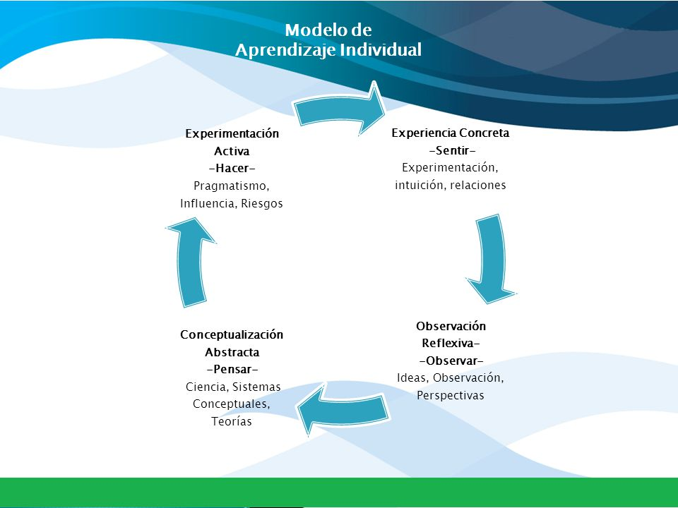 Modelo de Aprendizaje Individual