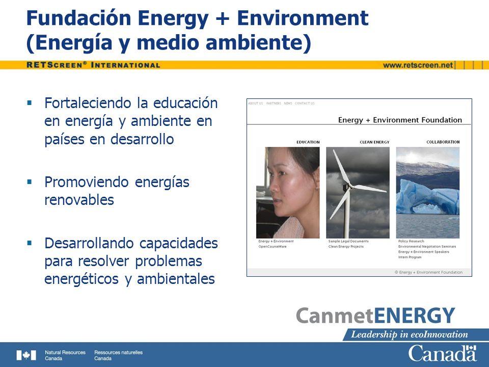 Fundación Energy + Environment (Energía y medio ambiente)