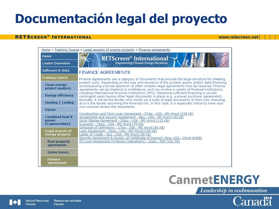 Documentación legal del proyecto