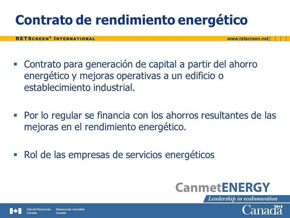 Contrato de rendimiento energético