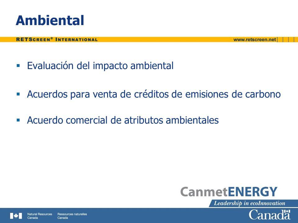 Ambiental Evaluación del impacto ambiental