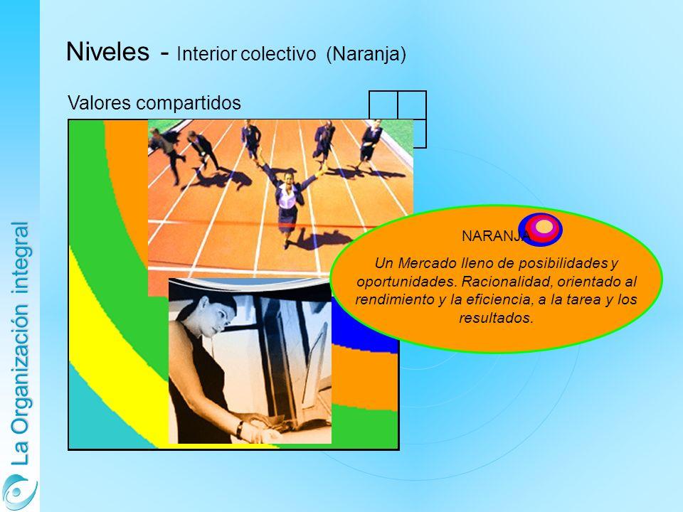 Niveles - Interior colectivo (Naranja)