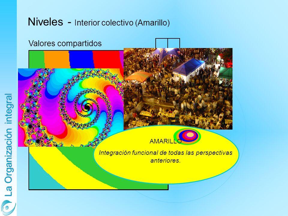 Integración funcional de todas las perspectivas anteriores.