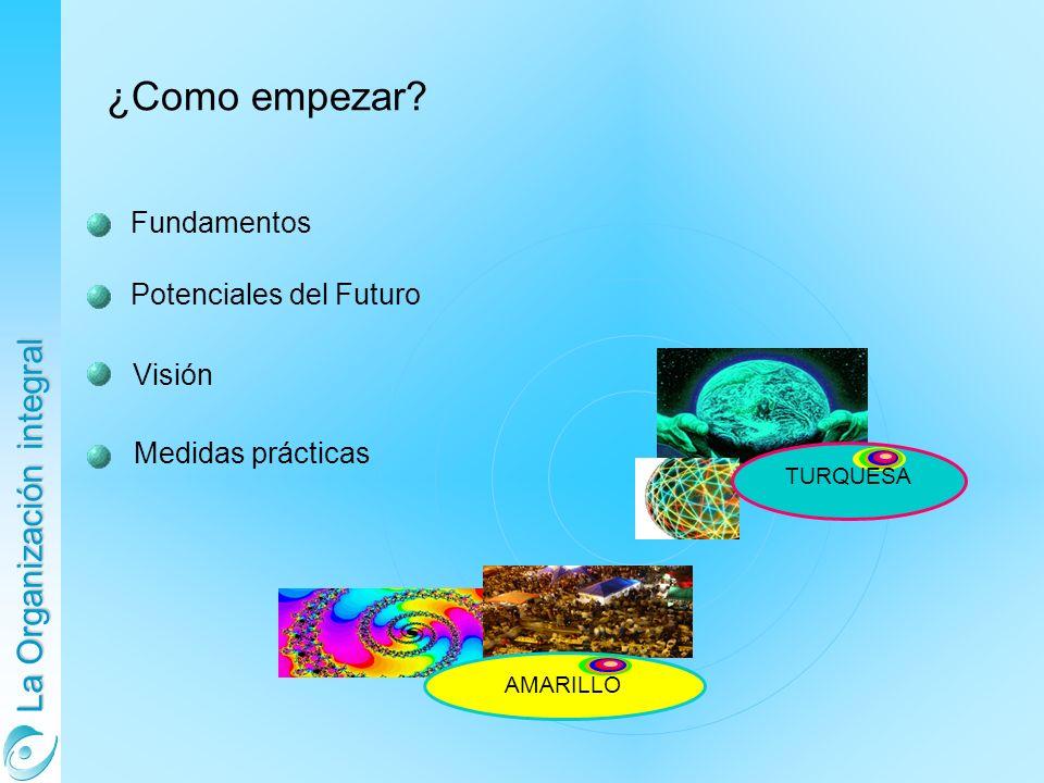 ¿Como empezar Fundamentos Potenciales del Futuro Visión