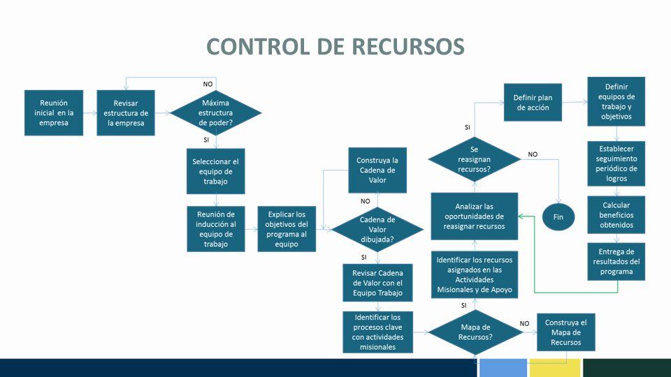 CONTROL DE RECURSOS