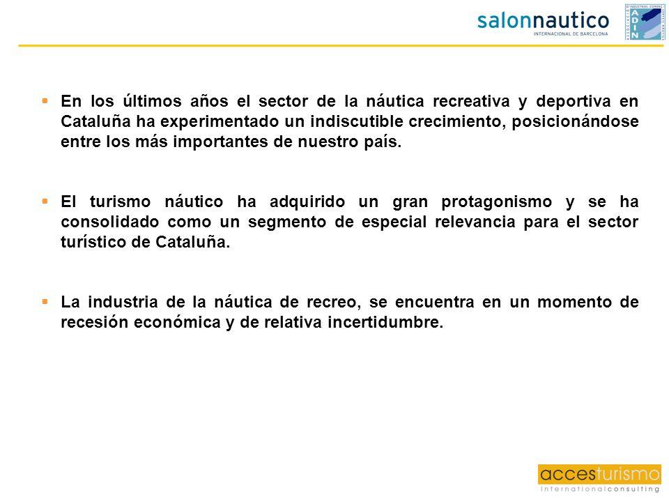 En los últimos años el sector de la náutica recreativa y deportiva en Cataluña ha experimentado un indiscutible crecimiento, posicionándose entre los más importantes de nuestro país.