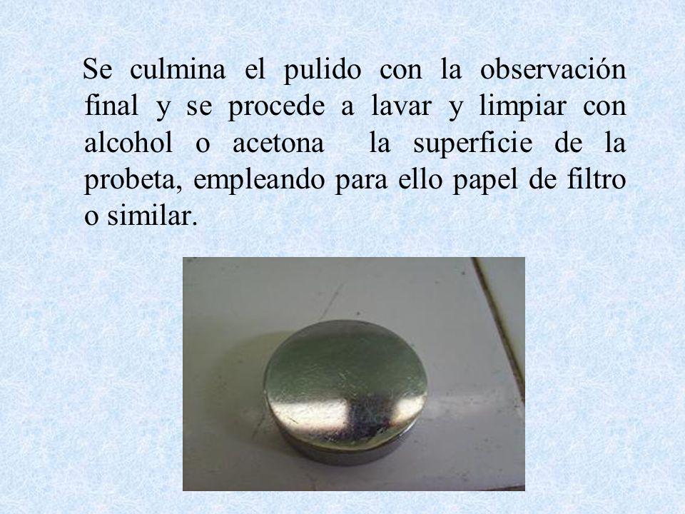 Pr ctica de laboratorio 1 ingenier a de los materiales i - Limpiar con alcohol ...