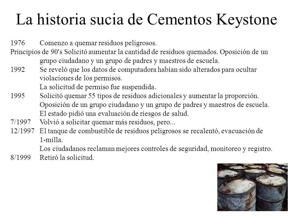 La historia sucia de Cementos Keystone