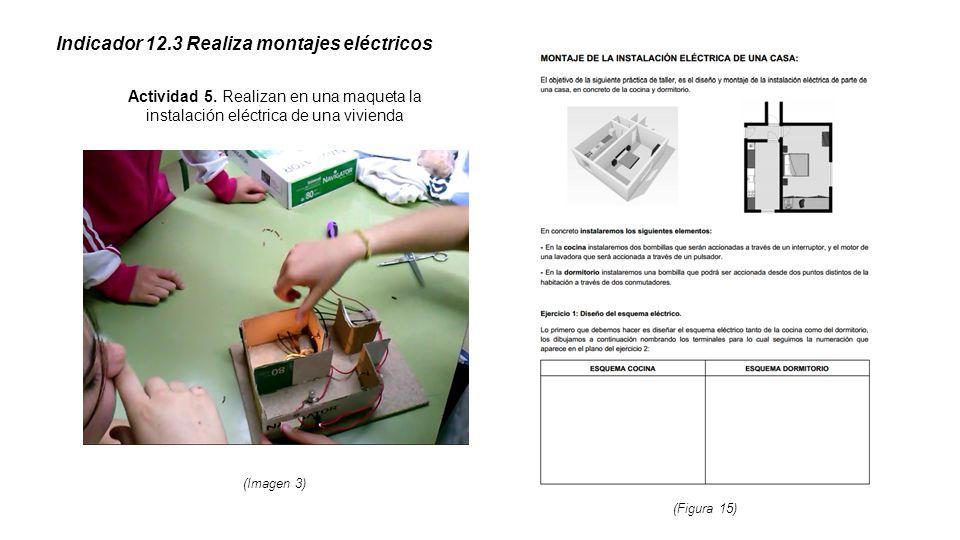 Indicador 12.3 Realiza montajes eléctricos