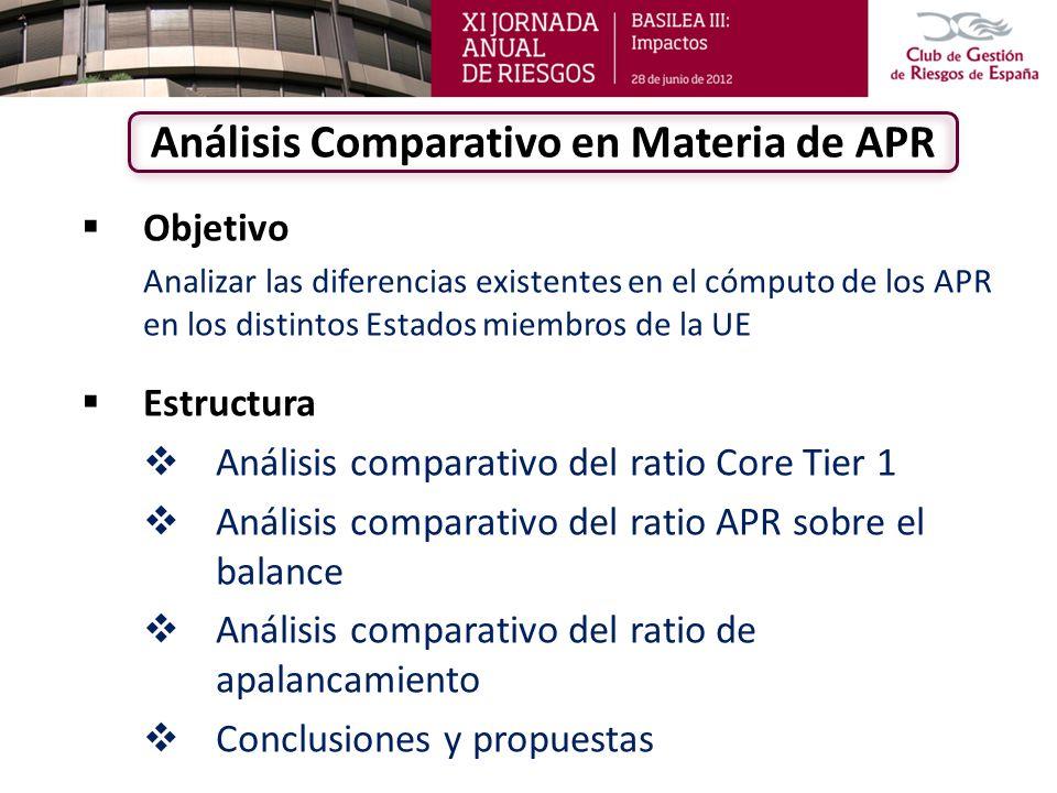 Análisis Comparativo en Materia de APR