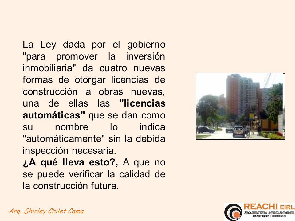 El impacto urbano ambiental de los edificios for Licencia de obras cuando es necesaria
