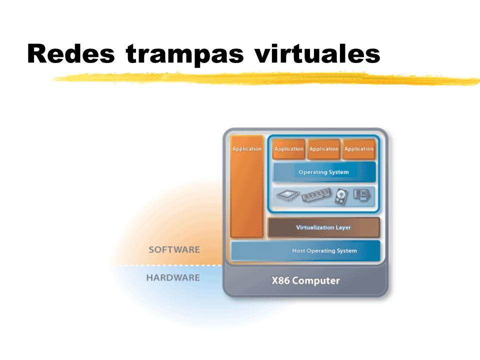 Redes trampas virtuales