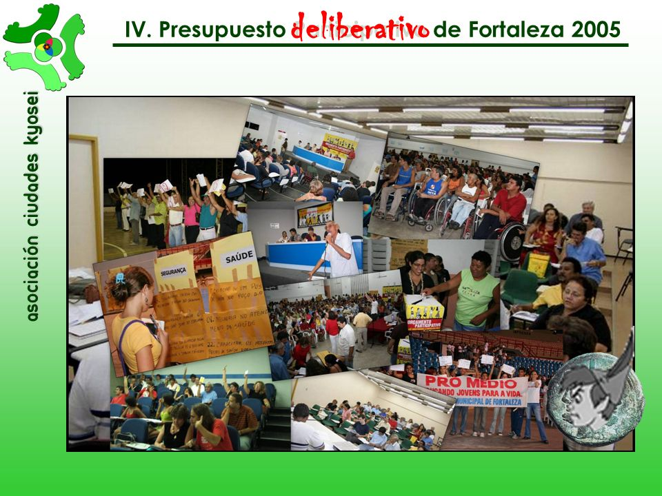 deliberativo IV. Presupuesto Participativo de Fortaleza 2005
