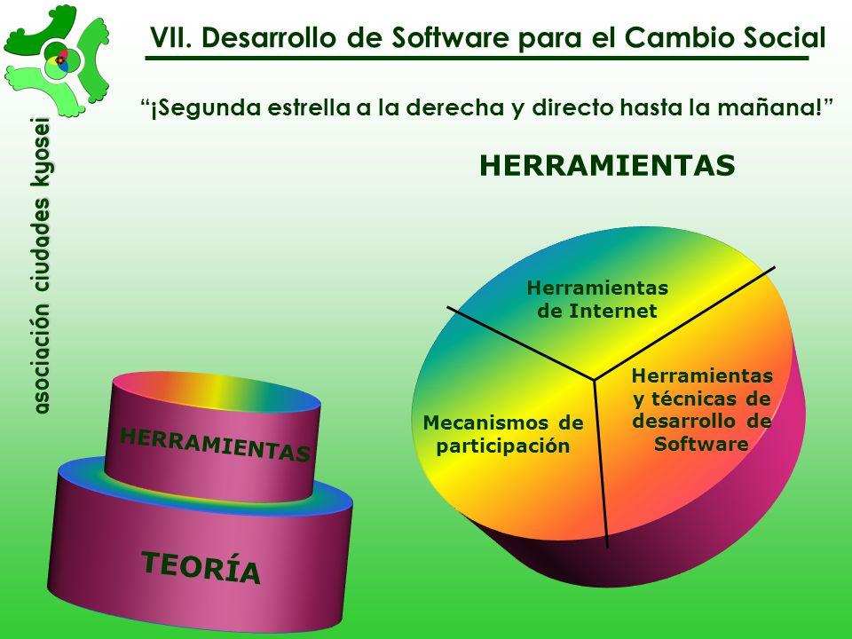 VII. Desarrollo de Software para el Cambio Social