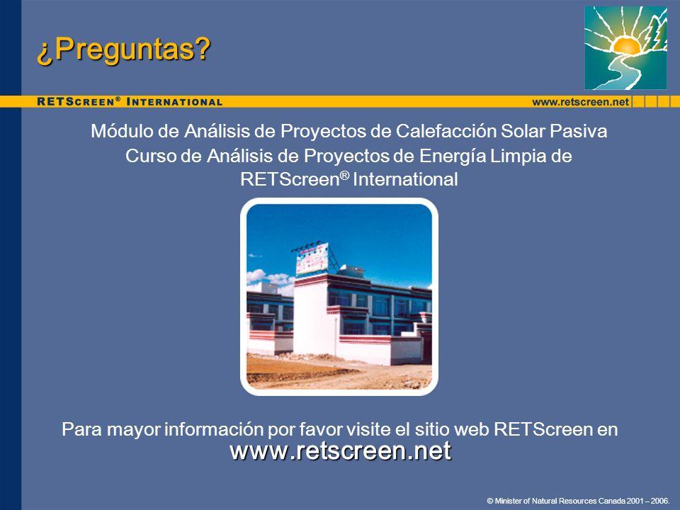 ¿Preguntas www.retscreen.net