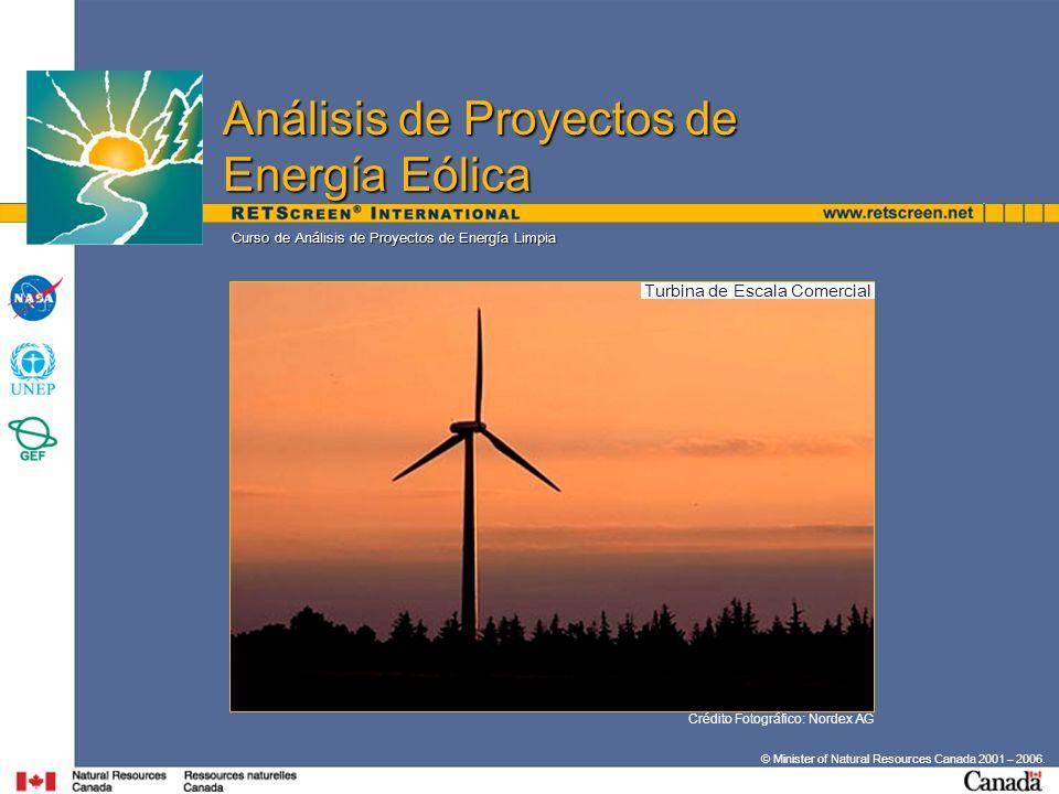Turbina de Escala Comercial