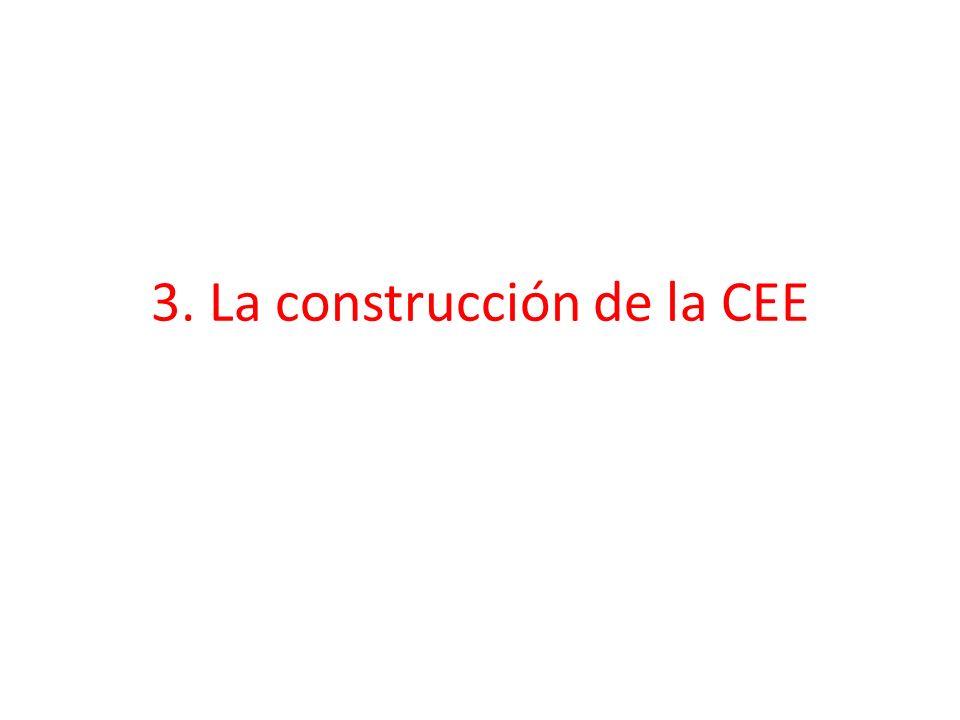 3. La construcción de la CEE