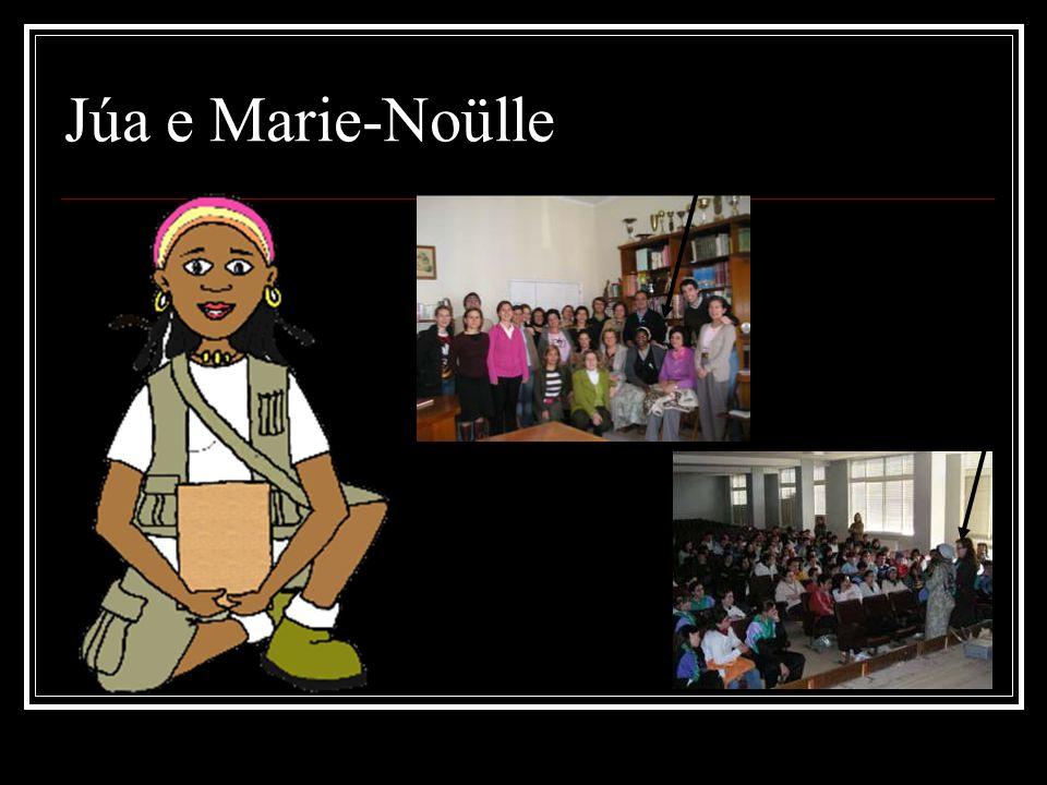 Júa e Marie-Noülle