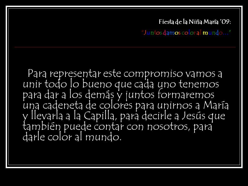 Fiesta de la Niña María ´09: