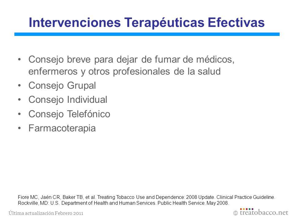 Intervenciones Terapéuticas Efectivas