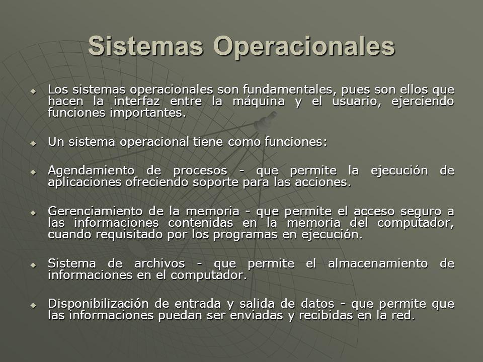 Sistemas Operacionales