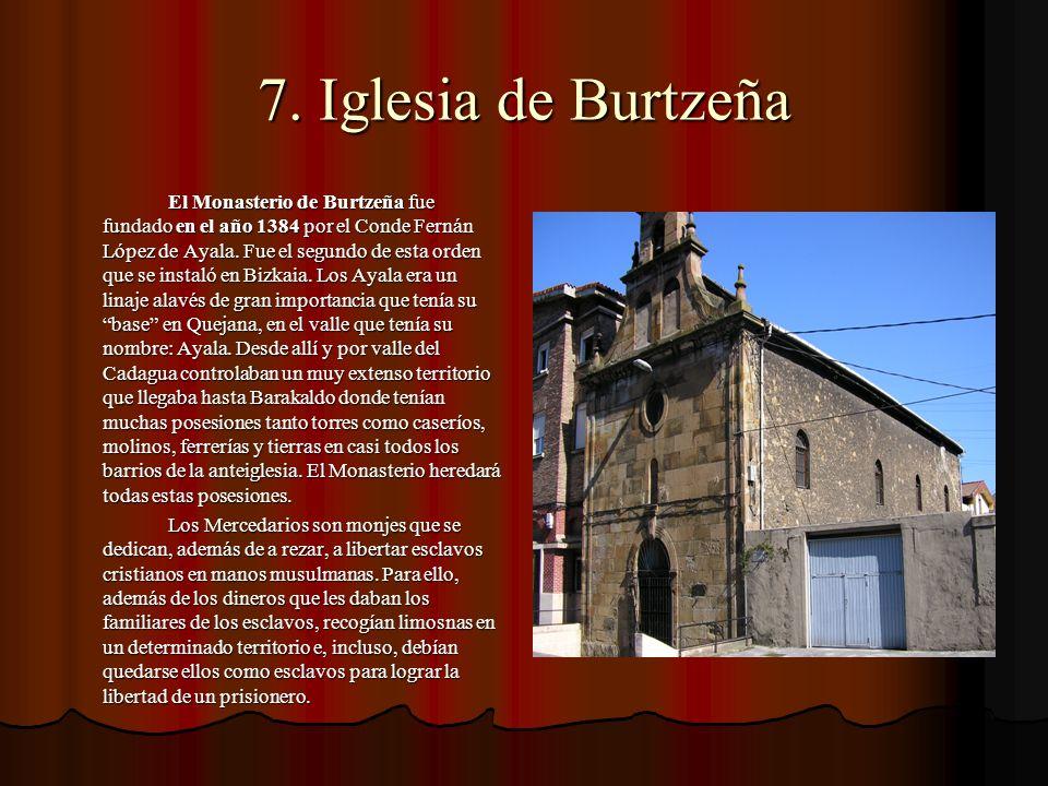 7. Iglesia de Burtzeña