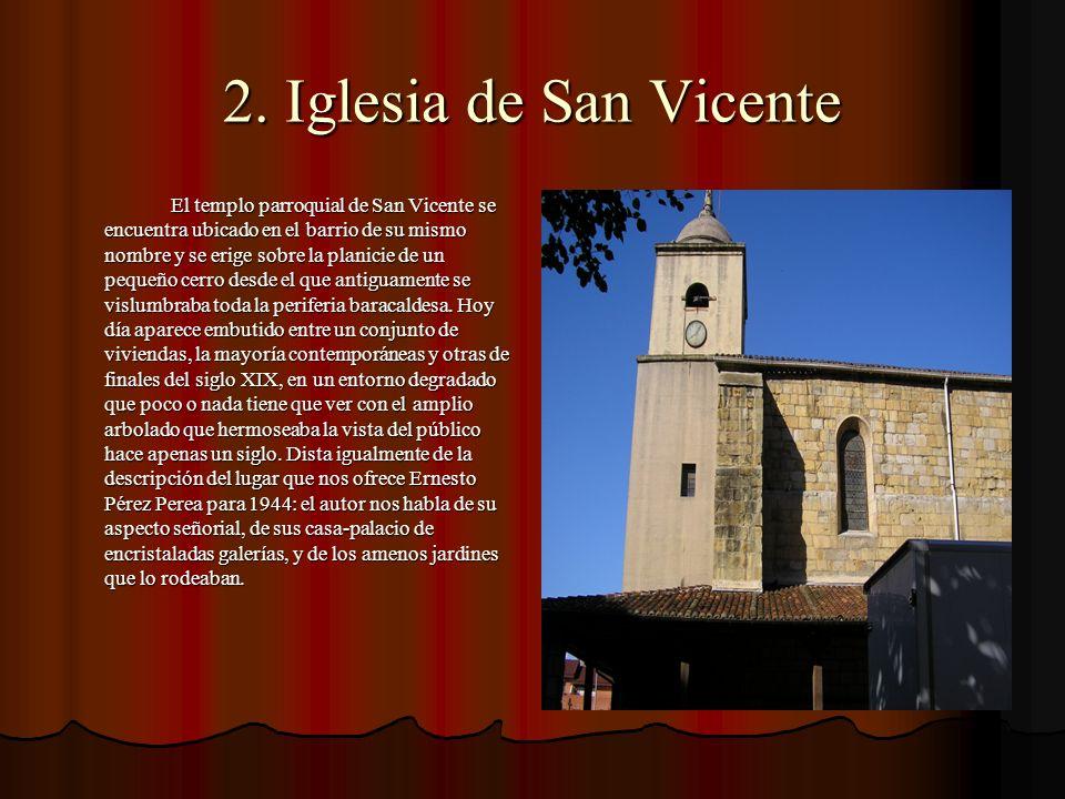 2. Iglesia de San Vicente