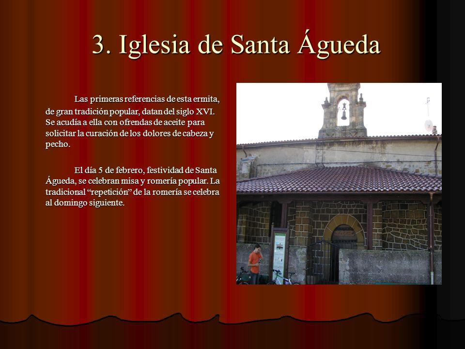 3. Iglesia de Santa Águeda