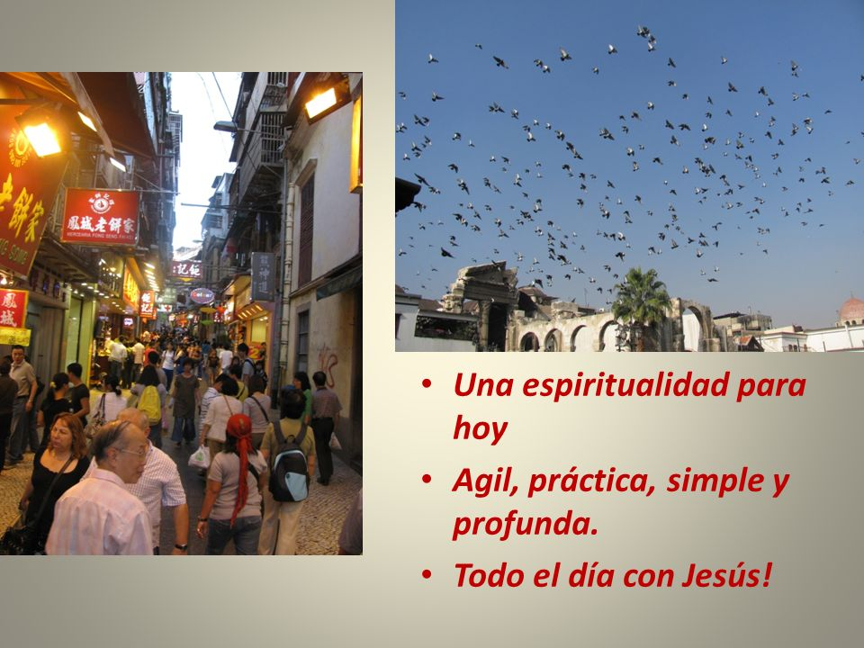 Una espiritualidad para hoy