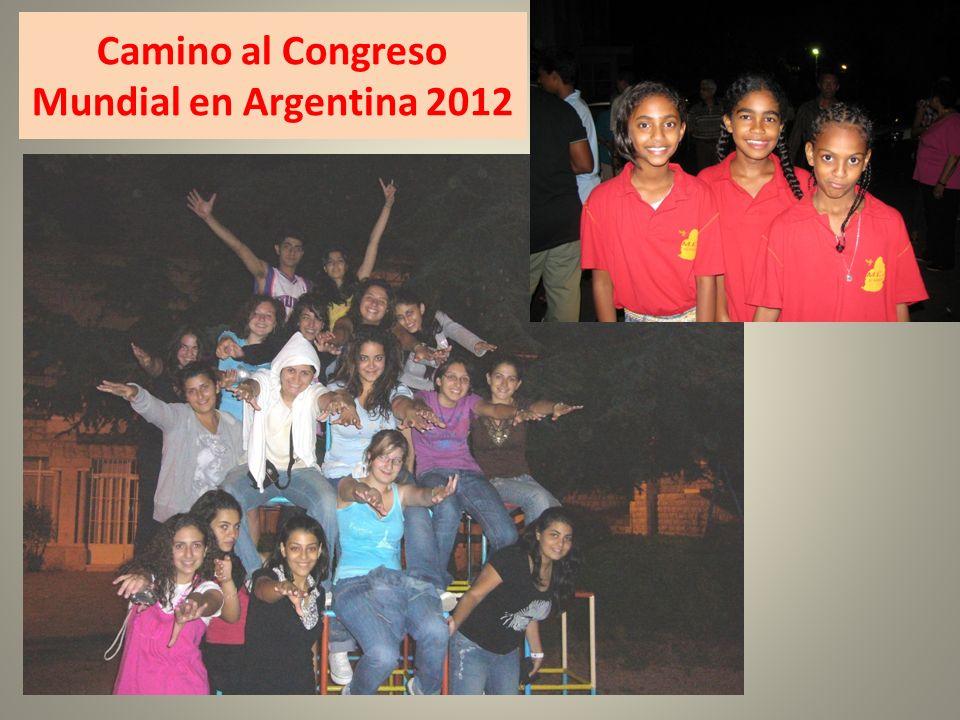 Camino al Congreso Mundial en Argentina 2012