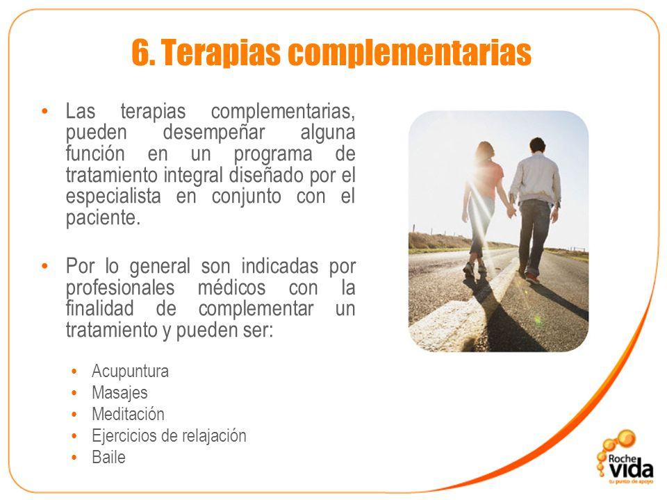 6. Terapias complementarias