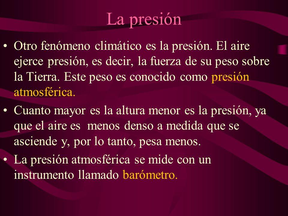 La presión