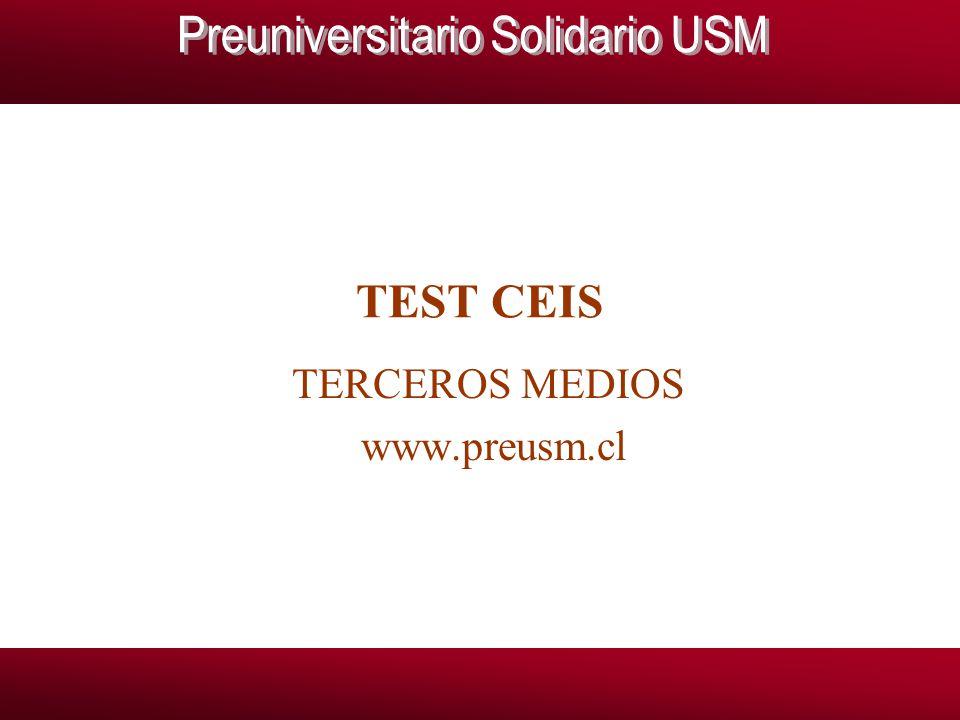 TERCEROS MEDIOS www.preusm.cl