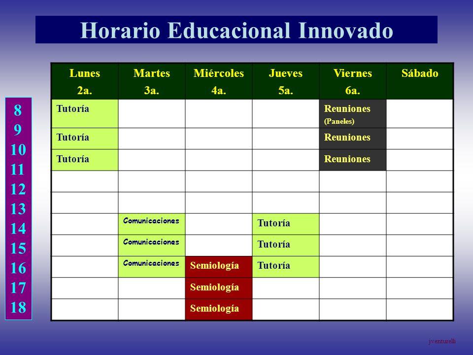 Horario Educacional Innovado