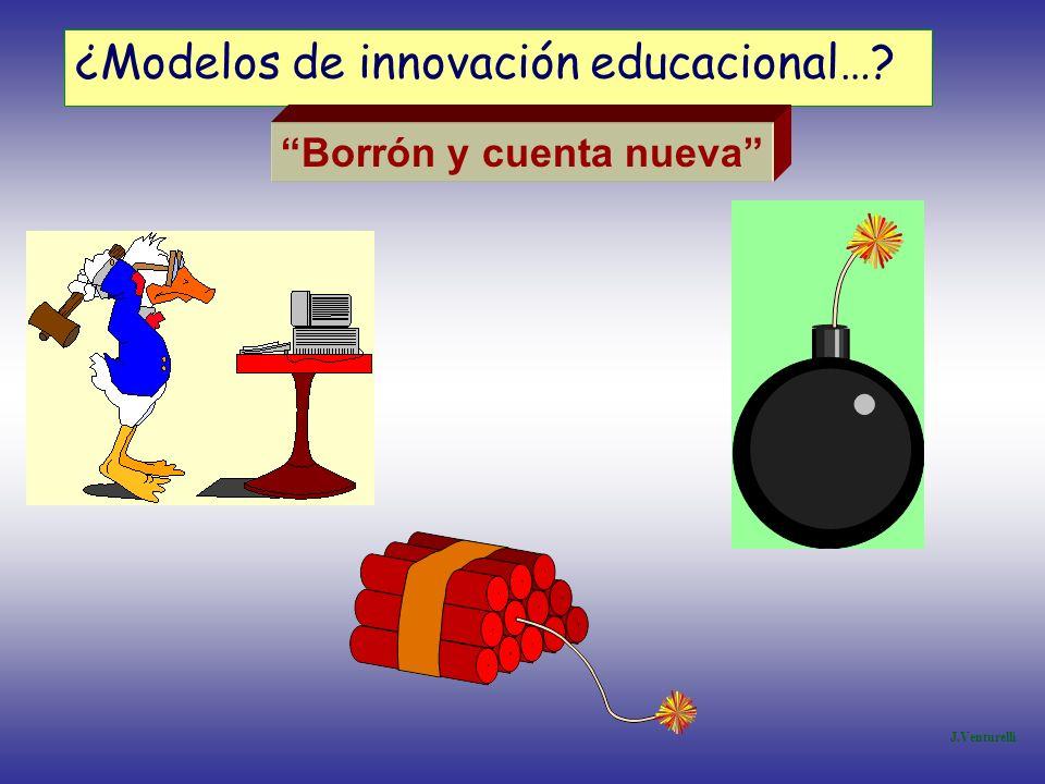 ¿Modelos de innovación educacional…