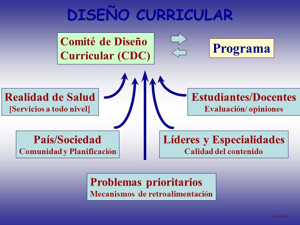 DISEÑO CURRICULAR Programa Comité de Diseño Curricular (CDC)