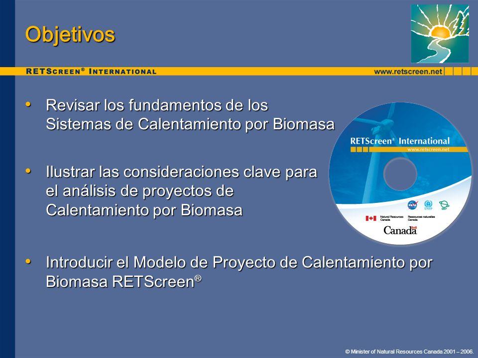 Objetivos Revisar los fundamentos de los Sistemas de Calentamiento por Biomasa.