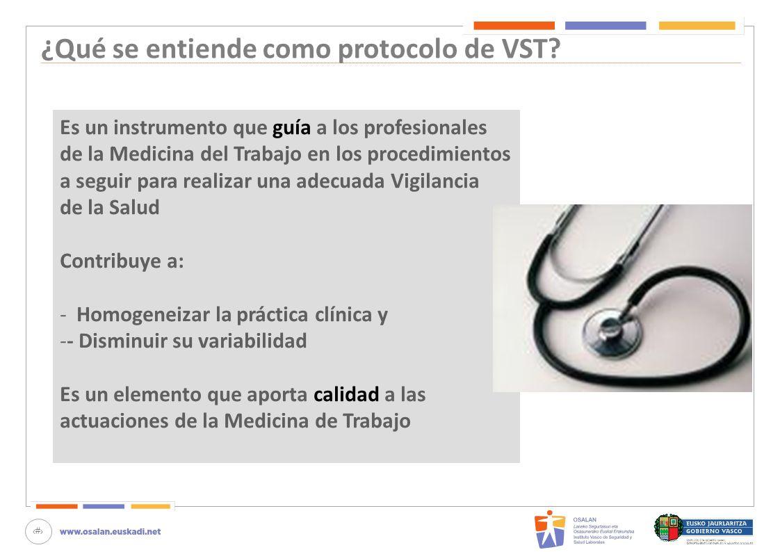 ¿Qué se entiende como protocolo de VST