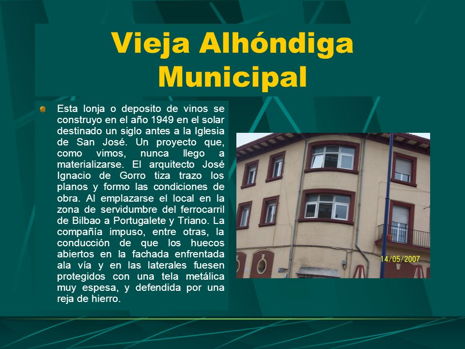 Vieja Alhóndiga Municipal