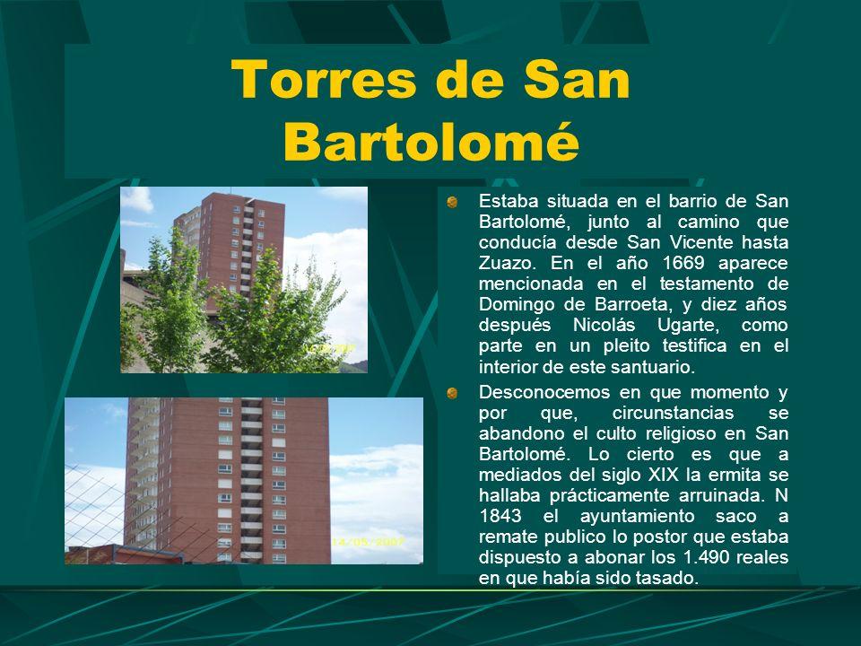 Torres de San Bartolomé